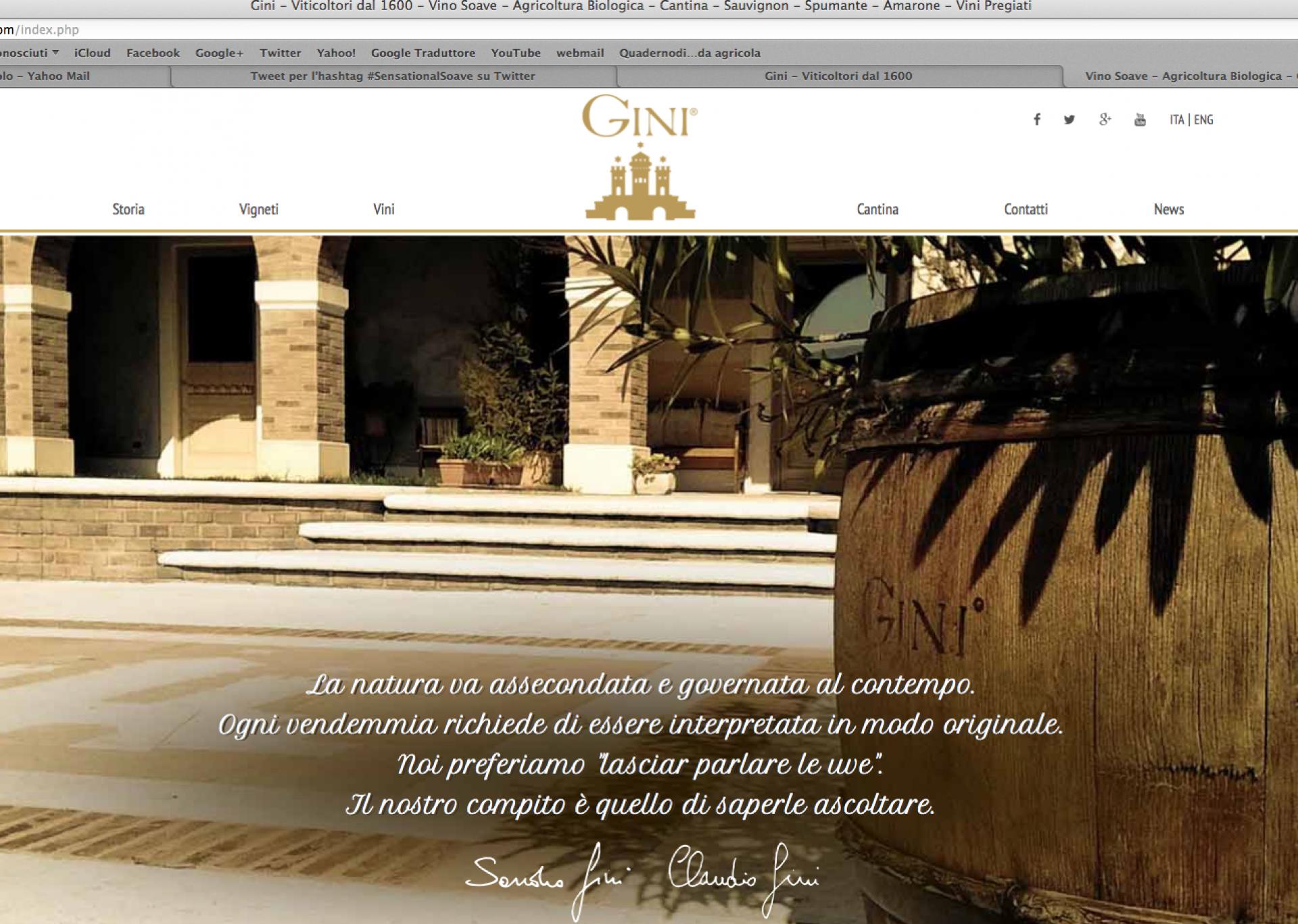 Benvenuto nel nostro nuovo sito web